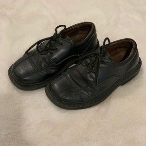 Boys leather dress shoes